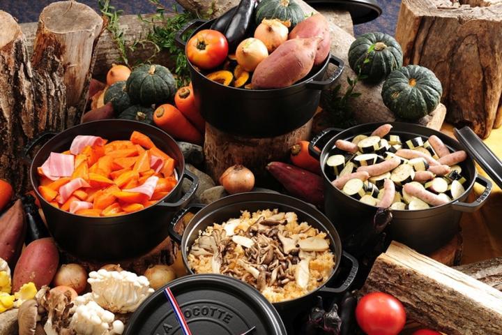 【秋の大収穫祭】ほくほくダッチオーブングルメ『60種が食べ放題』 秋の実りバイキングプラン 2018