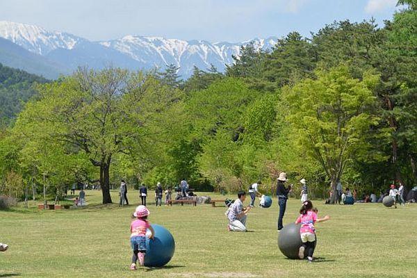 【安曇野の自然と文化を体験】国営アルプスあづみの公園入園券付プラン 2018