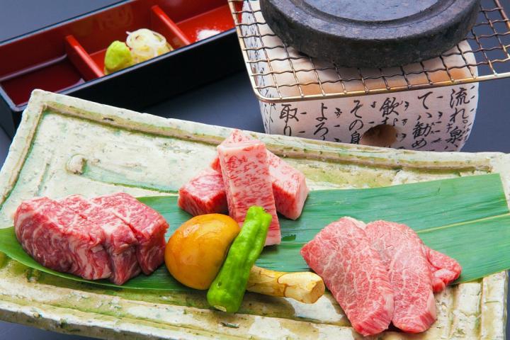 【飛騨牛を食べ比べ!】三種盛りステーキ付き☆飛騨の味覚を満喫!飛騨懐石プラン 2019