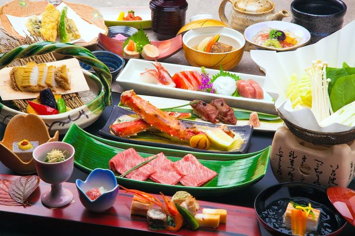 【Aシーズン/SP.G-up】 厳選食材と飛騨牛炙り寿司の饗宴。料理長渾身の【特製穂高懐石】プラン 2020