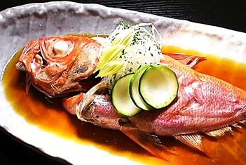 【一品料理付き】 「金目鯛の煮つけ」会席プラン ふっくらとした身と絶妙な味付けが自慢の一品! 2019