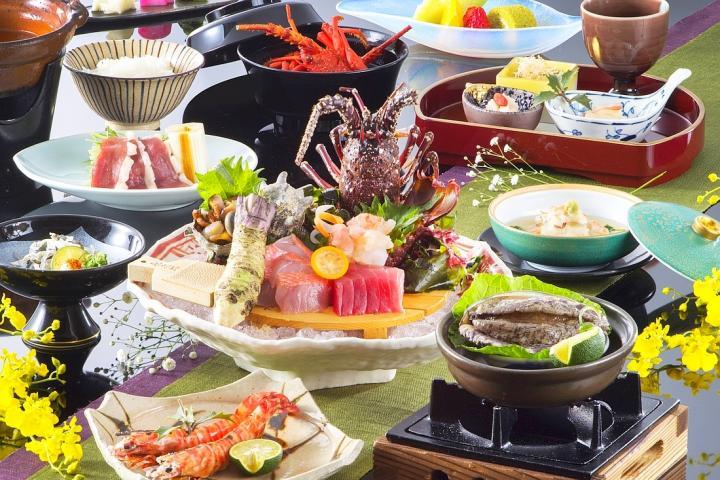 2大味覚を味わう特選和懐石orフレンチプラン 2018