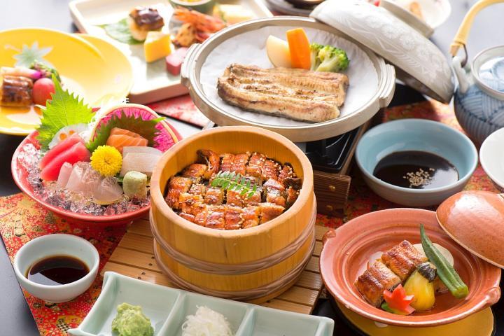 ★浜名湖といえばやっぱりうなぎでしょ!★4品のうなぎ料理が堪能できる うなぎ御膳プラン 2017